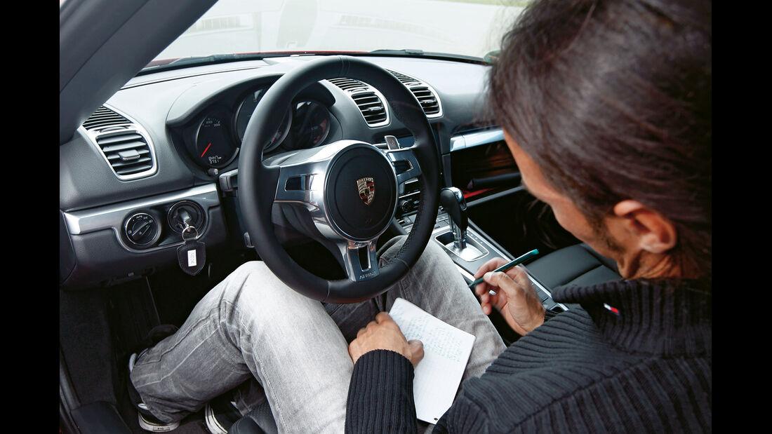 Porsche Boxster S, Cockpit