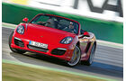 Porsche Boxster S, Frontansicht, Driften