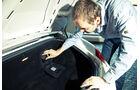 Porsche Boxster S, Gepäckraum