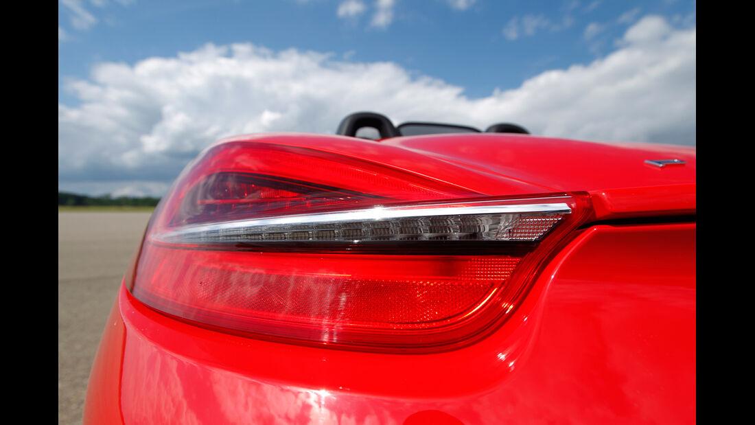 Porsche Boxster S, Heckleuchte
