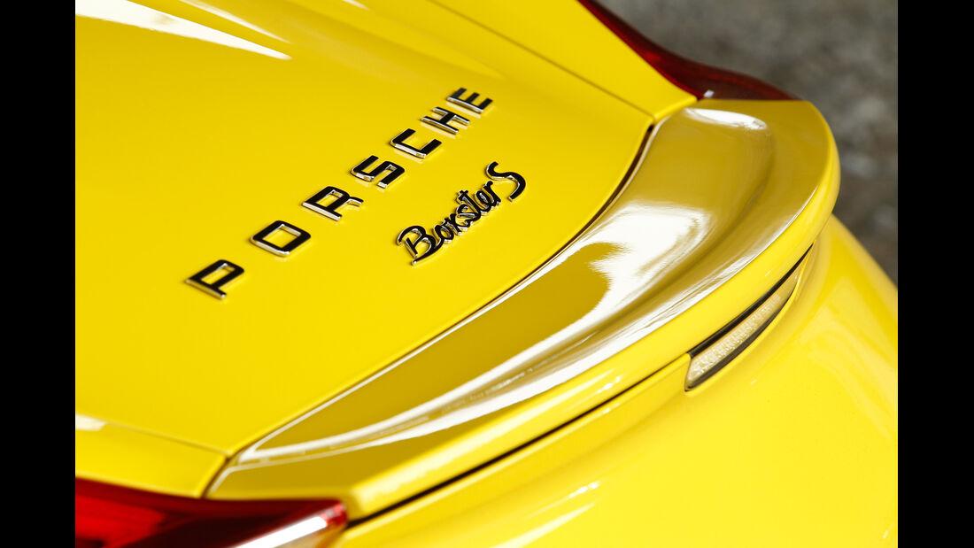 Porsche Boxster S, Heckspoiler