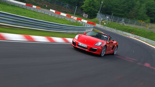 Porsche Boxster S, Kurvenfahrt