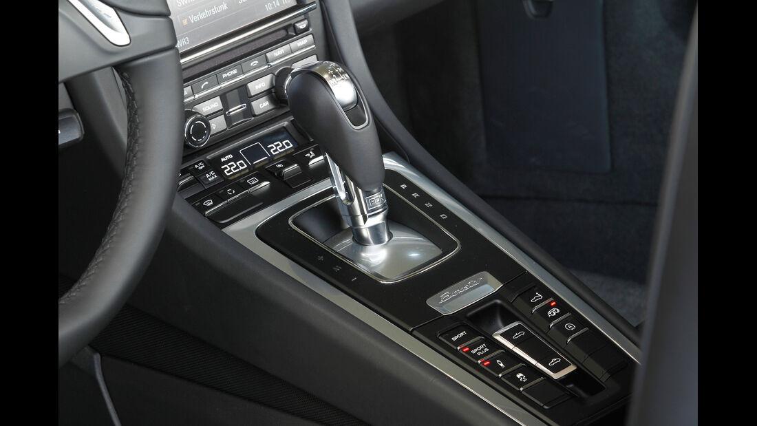 Porsche Boxster S, Mittelkonsole