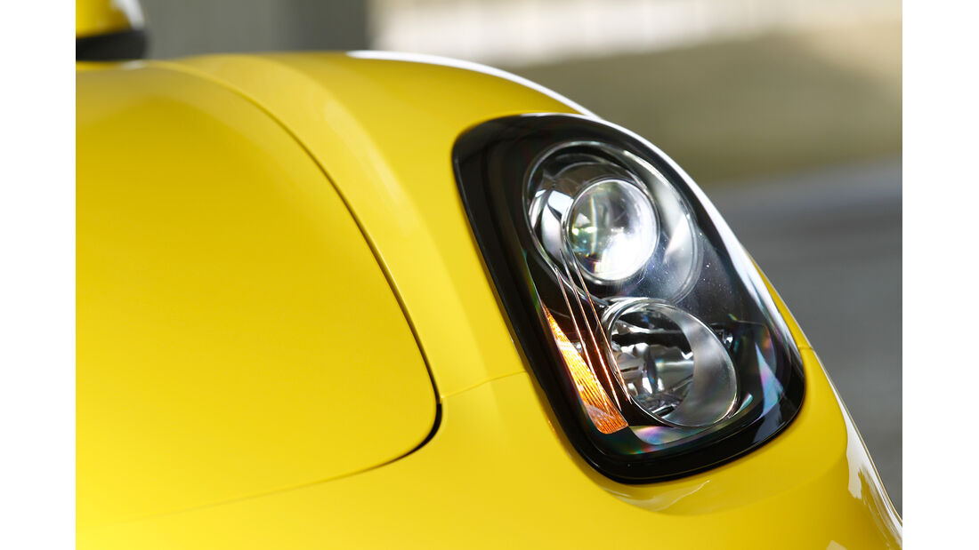 Porsche Boxster S, Scheinwerfer