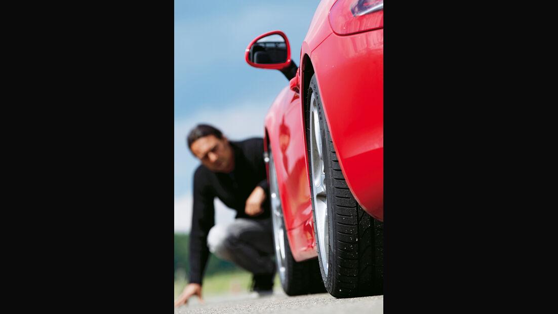 Porsche Boxster S, Seitenlinie