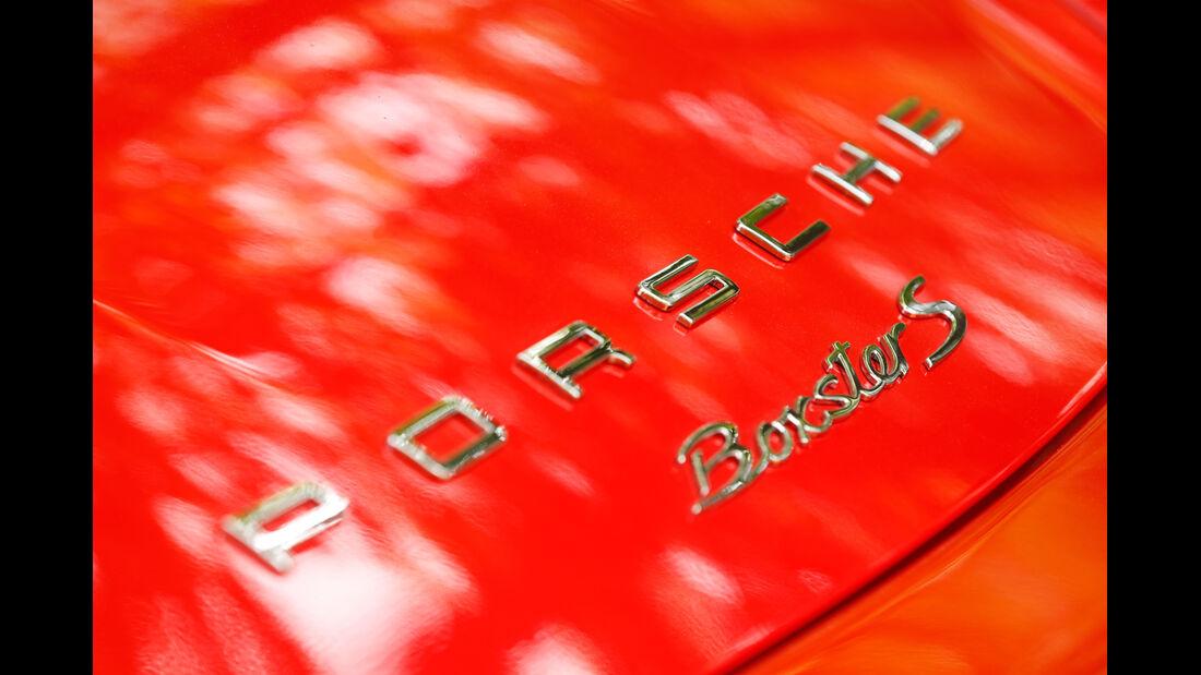 Porsche Boxster S, Typenbezeichnung