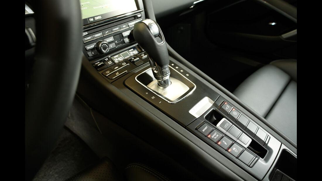 Porsche Boxster, Schalthebel