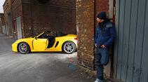 Porsche Boxster, Seitenansicht, Dani Heyne