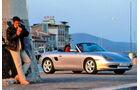 Porsche Boxster, Seitenansicht