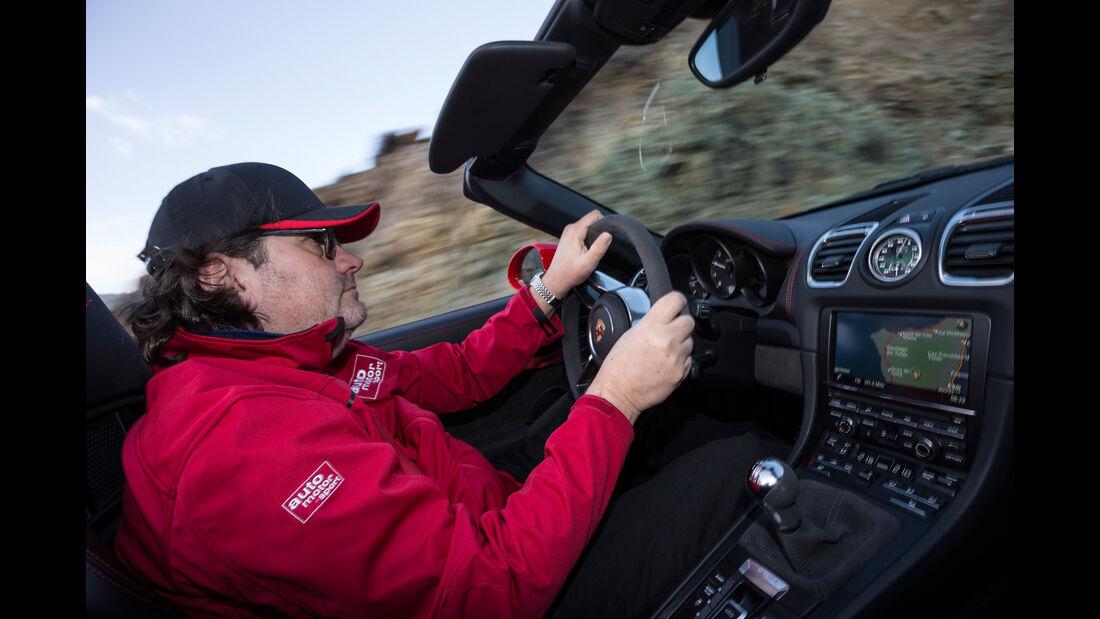 Porsche Boxster Spyder, Cockpit, Heinrich Lingner