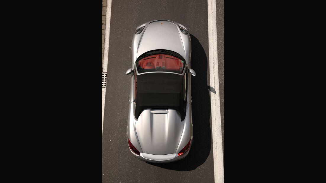 Porsche Boxster Spyder, Draufsicht