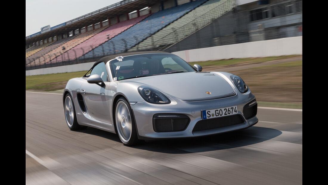 Porsche Boxster Spyder, Frontansicht