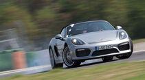 Porsche Boxster Spyder, Frontansicht, Driften