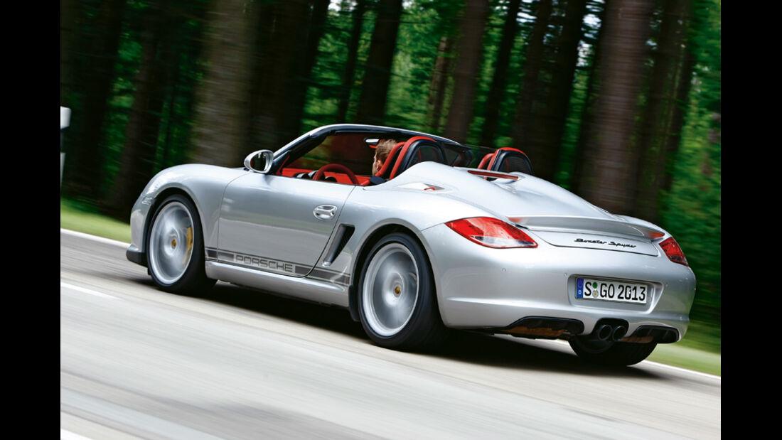 Porsche Boxster Spyder, Heck