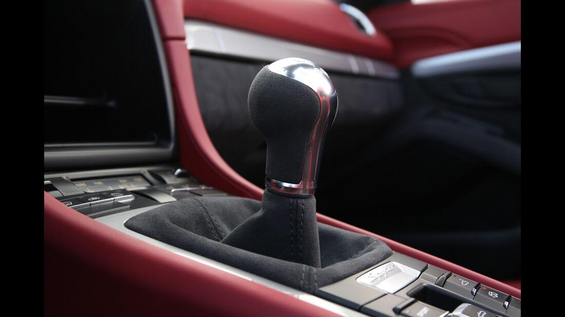 Porsche Boxster Spyder, Schalthebel