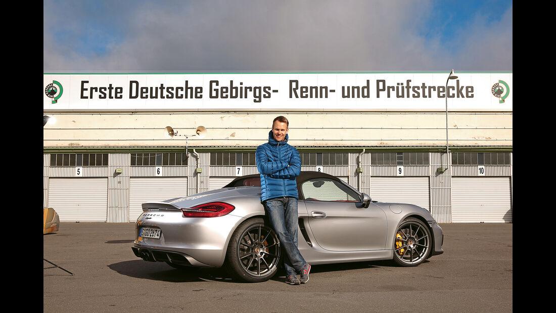 Porsche Boxster Spyder, Seitenansicht, Christian Gebhardt