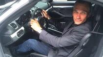 Porsche Boxster Spyder Sitzprobe