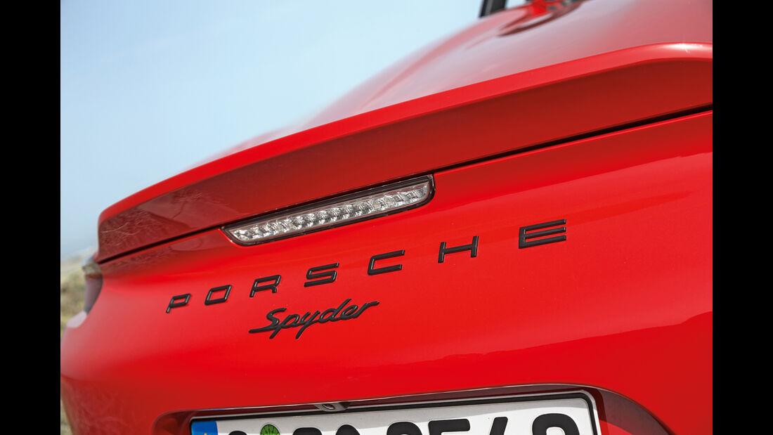 Porsche Boxster Spyder, Typenbezeichnung
