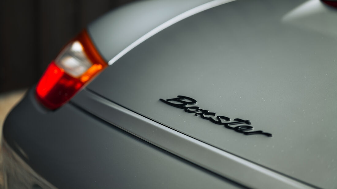 Porsche Boxster (Typ 986), Exterieur