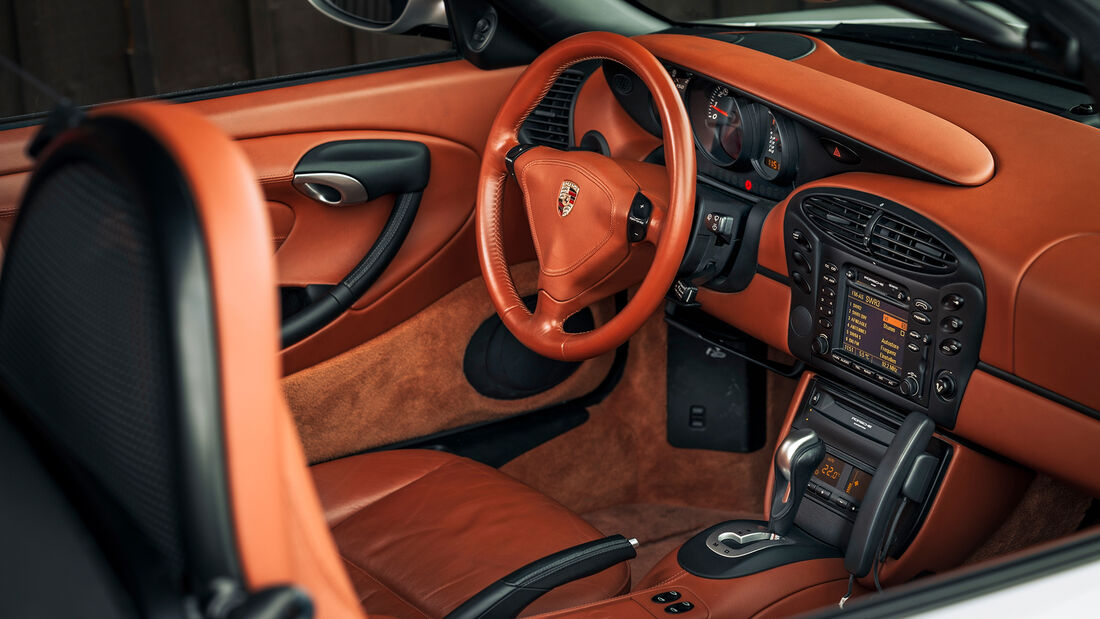 Porsche Boxster (Typ 986), Interieur