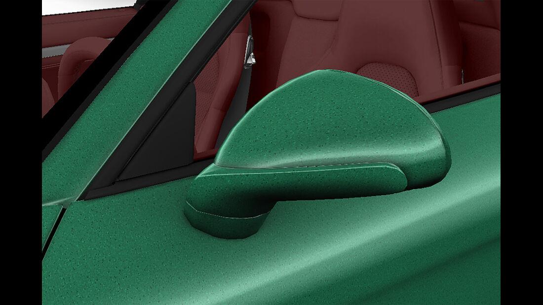 Porsche Boxster im Konfigurator, Aussenspiegel lackiert