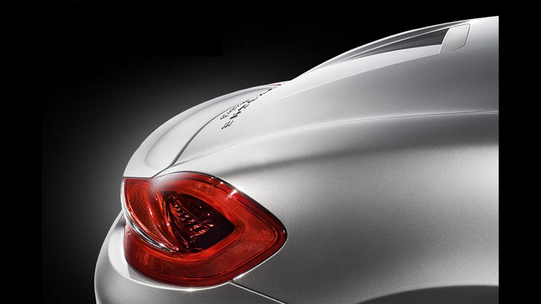 Porsche Boxster im Konfigurator, Heckflügel