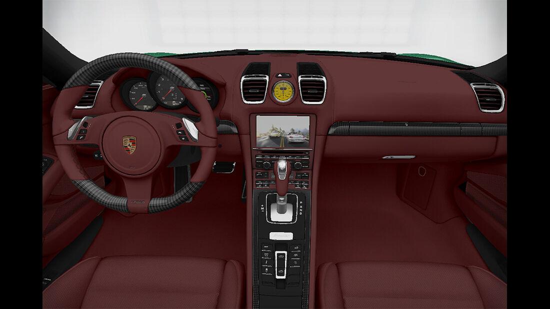Porsche Boxster im Konfigurator, Karbon-Ausstattung