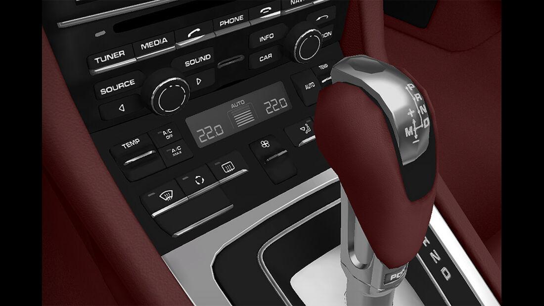 Porsche Boxster im Konfigurator, Klimaautomatik