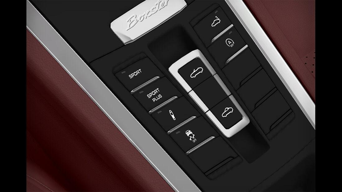 Porsche Boxster im Konfigurator, Sport-Chrono-Paket