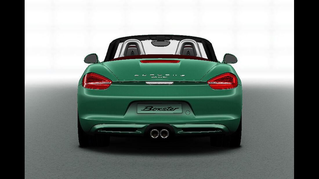 Porsche Boxster im Konfigurator, Sportauspuff