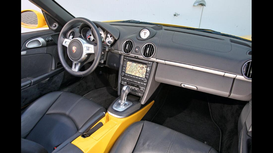 Porsche Boxter S, Innenraum, Cockpit