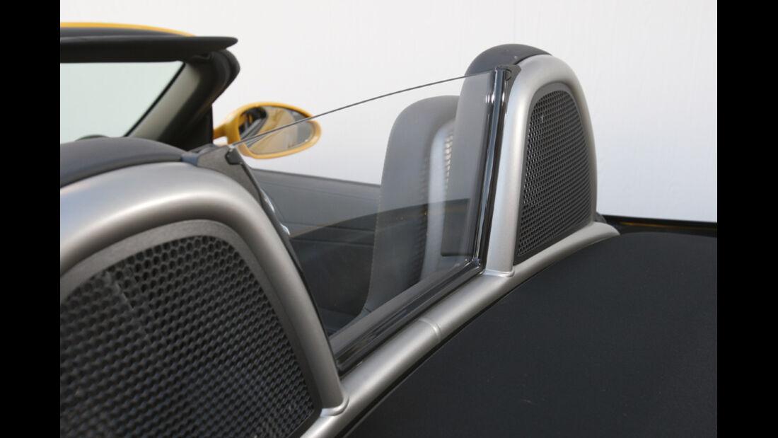 Porsche Boxter S, Windschott