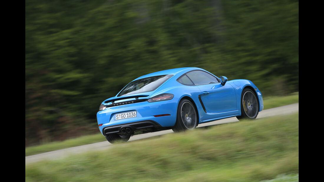 Porsche Caman Heck