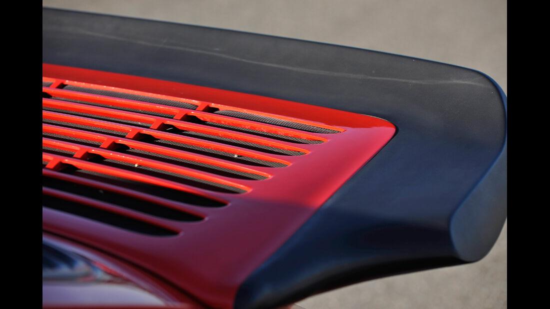 Porsche Carrera 3.2, Heckspoiler, Detail
