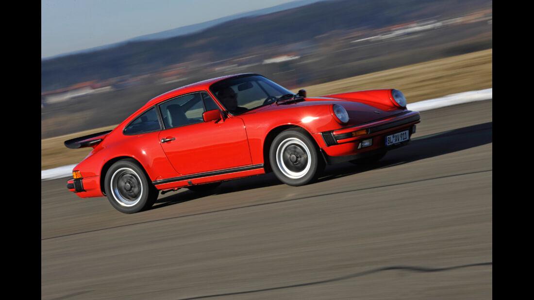 Porsche Carrera 3.2, Seitenfenster