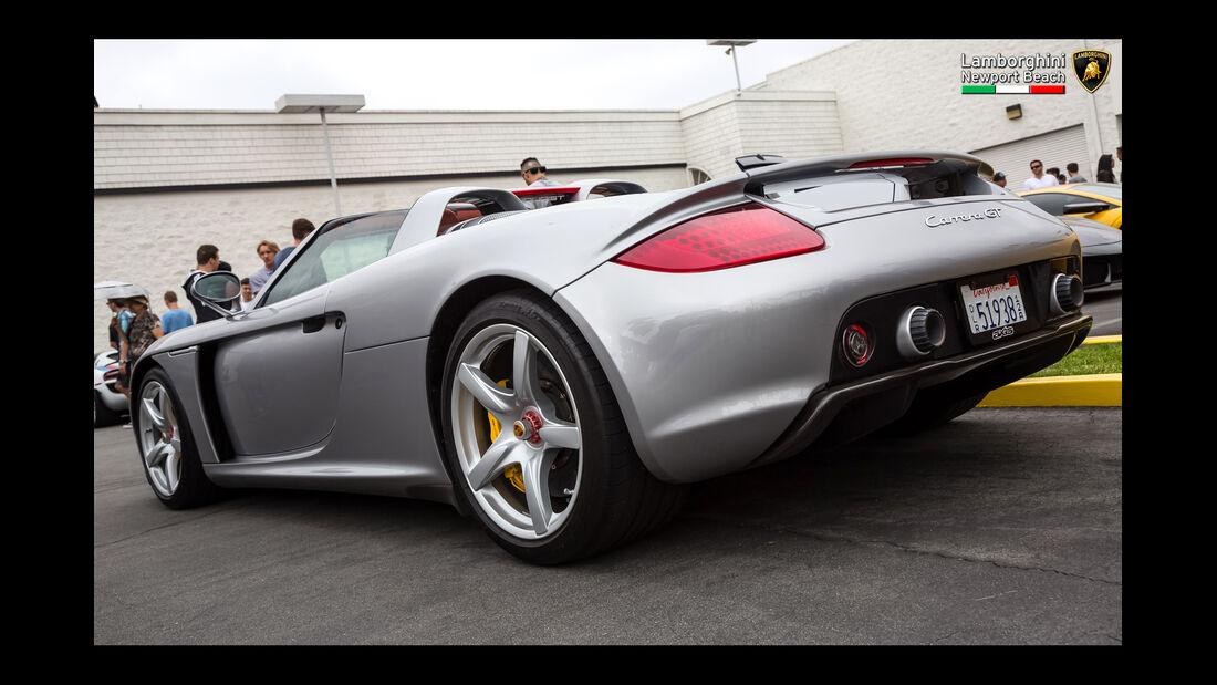 Porsche Carrera GT - 200 mph Supercarshow - Newport Beach - Juli 2016