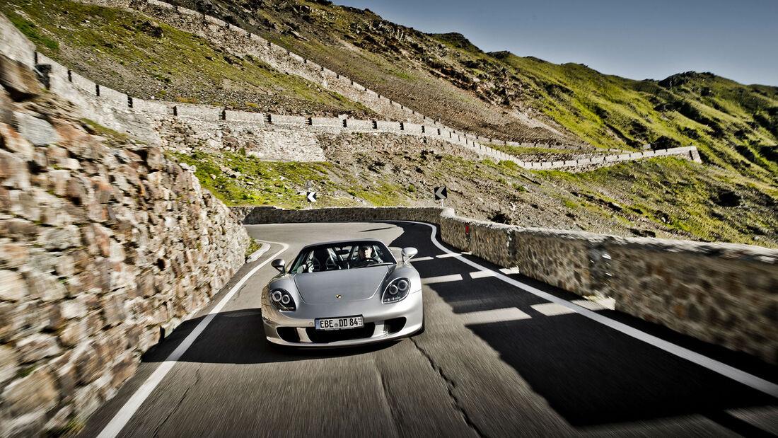 Porsche Carrera GT (2003) Stilfser Joch