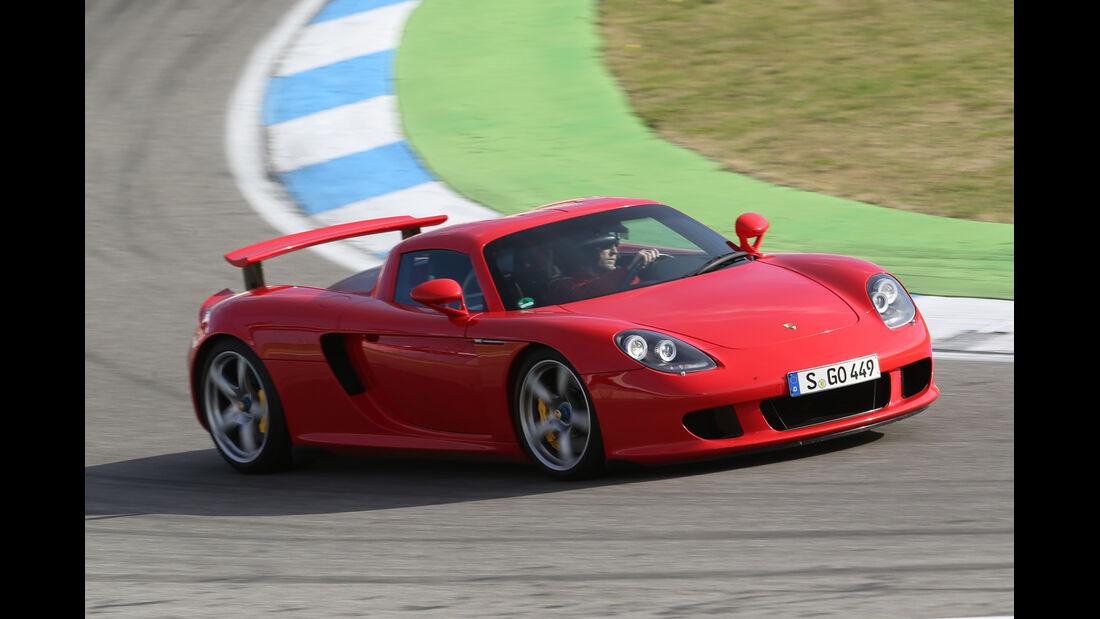 Porsche Carrera GT, Frontansicht