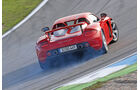 Porsche Carrera GT, Heckansicht