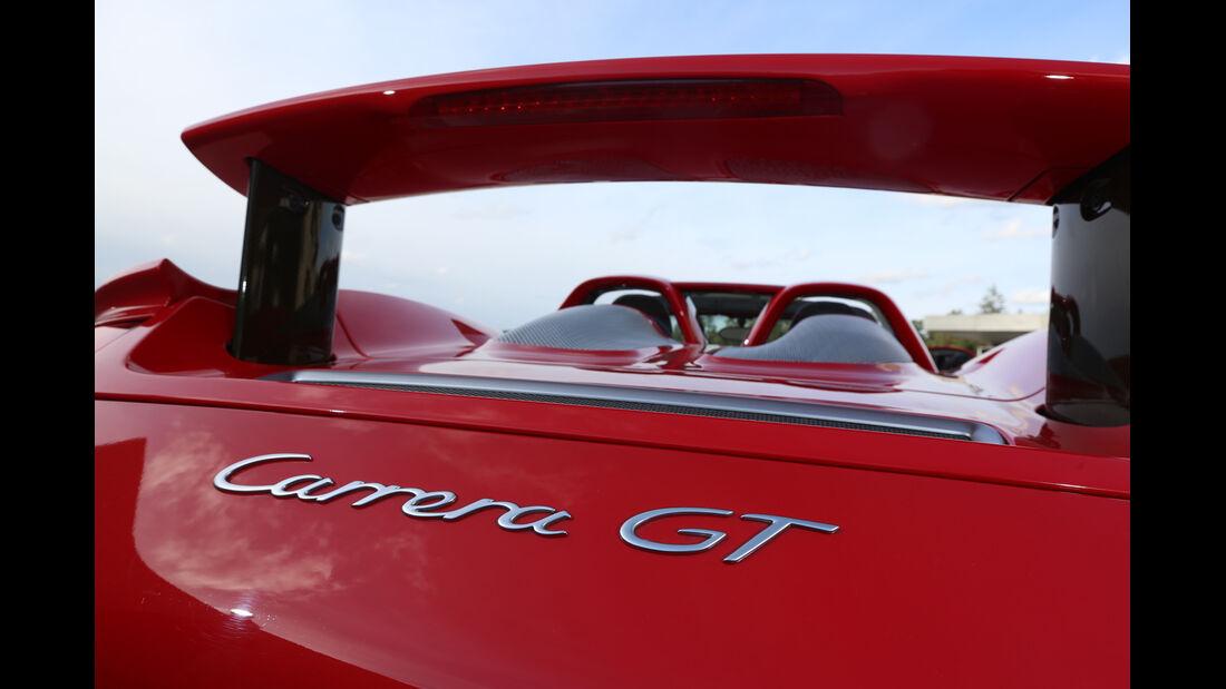 Porsche Carrera GT, Heckspoiler