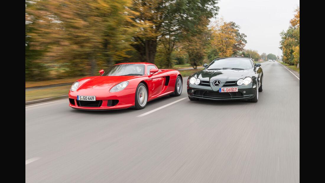 Porsche Carrera GT - Mercedes SLR McLaren - Gebrauchte Sportwagen - Supersportwagen