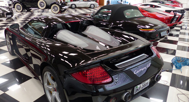 Porsche Carrera GT - Nelson Piquet - Autosammlung