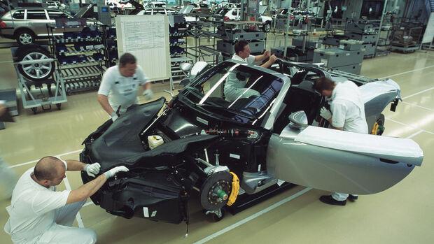 Porsche Carrera GT Produktion Leipzig (2004)