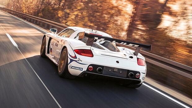 Porsche Carrera GT-R mit Straßenzulassung
