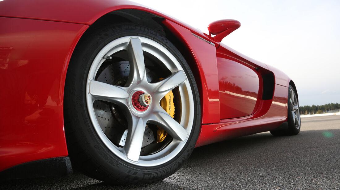 Porsche Carrera GT, Rad, Felge, Bremse