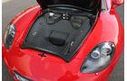 Porsche Carrera GT, Stauraum, Kofferraum