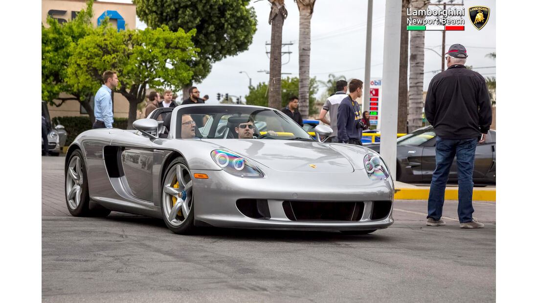 Porsche Carrera GT - Supercar Show - Lamborghini Newport Beach