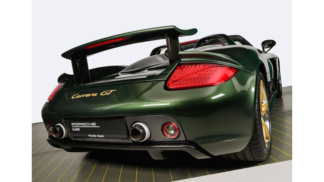 Porsche Carrera GT Werksrestaurierung
