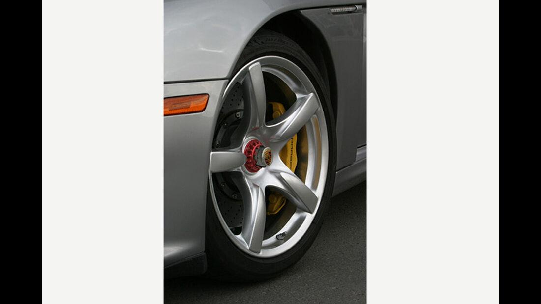 Porsche Carrera GT im Supertest