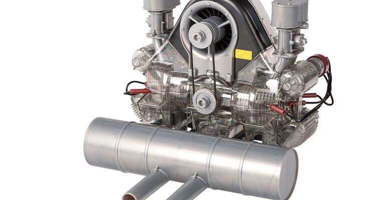 Porsche Carrera-Motor Bausatz